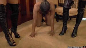 Mistress Tangent: Boot Ball Bust