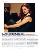 Caroline Dhavernas - Interview Magazine - September 2006 (x1)