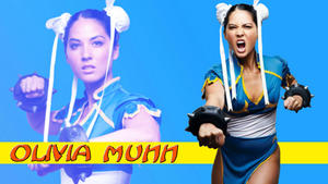 "Olivia Munn ""Munn Li"" Widescreen Wallpaper"