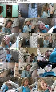 Beatiful blonde Sindy ride on big cock for money