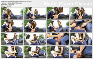 Homsmother: Hard punishment for losers/Sexy girls Adriana & Felicitas